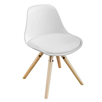 Sobuy Fst46 W Kinderstuhl Stühlchen Sitzhocker Weiß Sitzhöhe