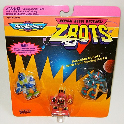 Micro Machines ZBots (Z-bots) 3 Pack #23 for sale  Delivered anywhere in USA