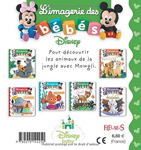 L Imagerie Des Bebes Disney Le Livre De La Jungle Amazon