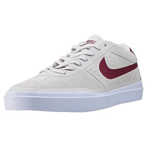 best website 6a1dc fd10c Nike Bruin Sb Hyperfeel Summit White Team Red White White 9UK  Amazon.es   Zapatos y complementos