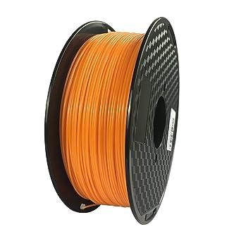 Filamento para impresora 3D de 1,75 mm, filamento naranja para PC ...