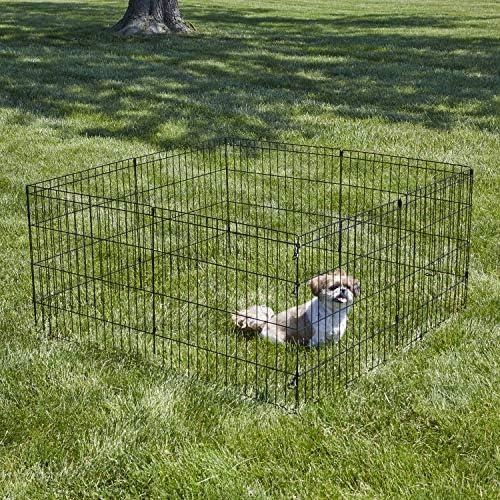 "New World Pet Products B550-24, corralito para mascotas, negro, pequeño / 24 ""x 24"" 3"