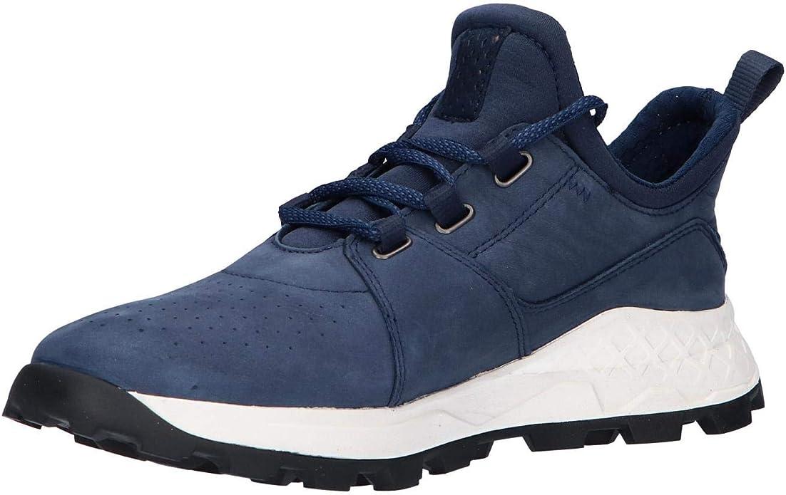 Timberland Brooklyn Lace Oxford Sneakers Hommes Blu Sneakers