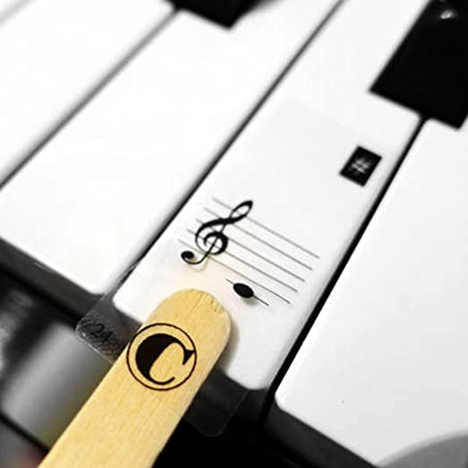 Rosepoem Pegatinas para Teclas Piano - para teclados 61/88: Amazon.es: Deportes y aire libre
