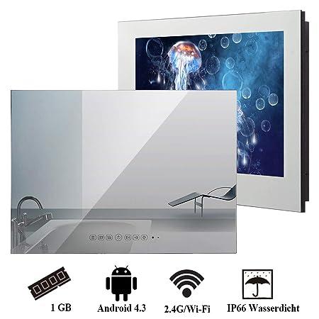 Wasserdichter Badezimmer-Fernseher von Soulaca: Amazon.de: Elektronik