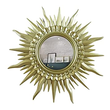 Amazon Com Decorative Mirror European Modern Sun Shape Wall