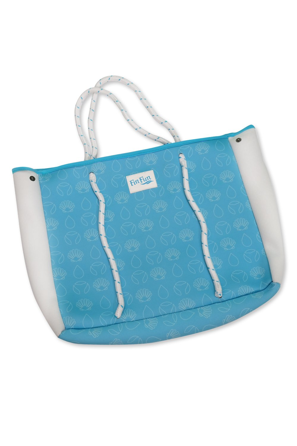 Fin Fun Mermaid Blue Neoprene Tote Bag- Monofin NOT Included