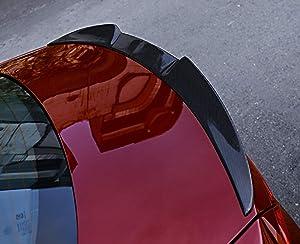 Eppar New Carbon Fiber Rear Trunk Spoiler Compatible with ALFA Romeo Giulia 2016-2020 (M4-Style)