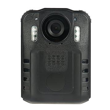 Digi4u cuerpo Worn Wearable Cámara IR Noche Visión 1080P Portable DVR wz9 para profesionales de la seguridad ...