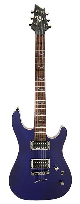 Guitarra eléctrica diseño moderno con doble cutaway: Amazon.es: Instrumentos musicales