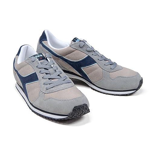 Scarpe Sneaker Uomo DIADORA Modello K RUN C WH Colore Ice Gray