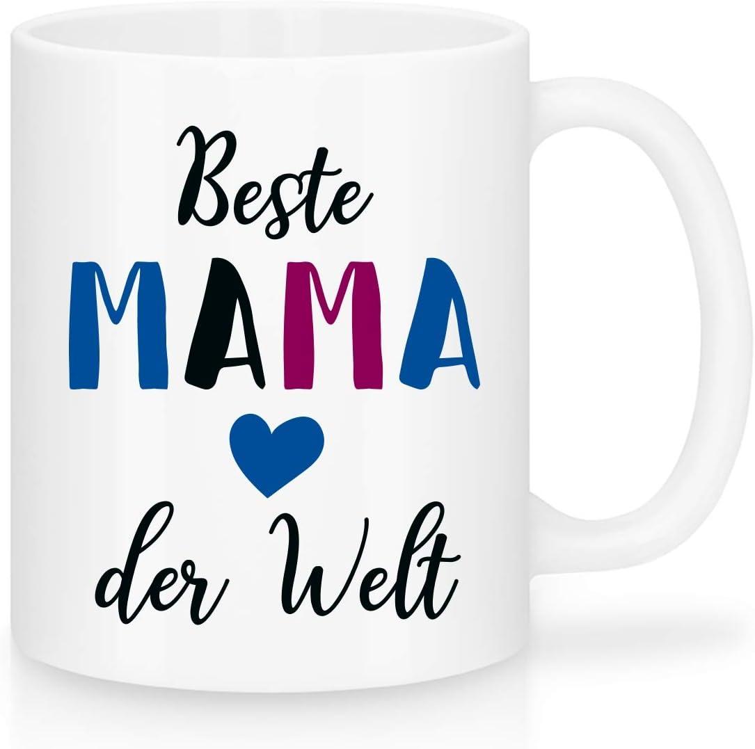 Beste Mama der Welt Tasse Spruch Geschenk Idee Geburtstag Weihnachten Muttertag