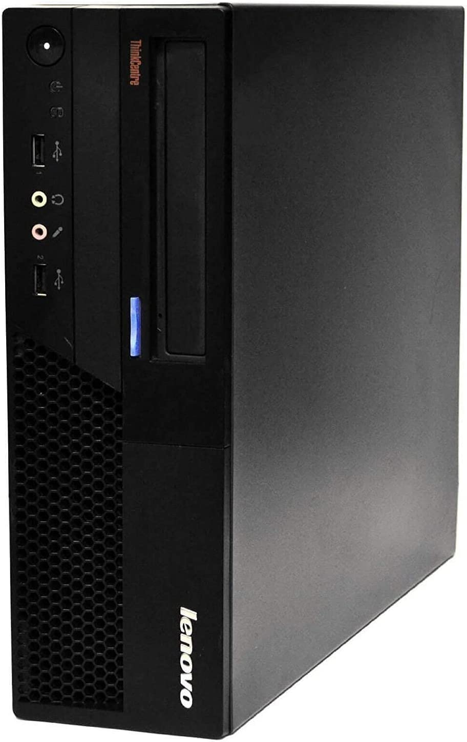 Lenovo ThinkCentre M58 Business Desktop Computer with Intel Core 2 Duo 3.0GHz Processor, 4GB-RAM, 320GB HDD, DVD, Gigabit Ethernet, VGA, Windows 10 Home (Renewed)