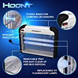 Hoont Powerful Electronic Indoor Bug Zapper - 20 Watts, Covers 6,000 Sq. Ft. / Fly Killer, Insect Killer, Mosquito Killer - For Residential, Commercial and Industrial Use