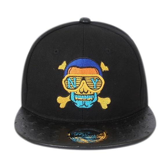 71721bc6328 ILU NY Men s Cotton Snapback Hiphop Cap Black Freesize  Amazon.in  Clothing    Accessories