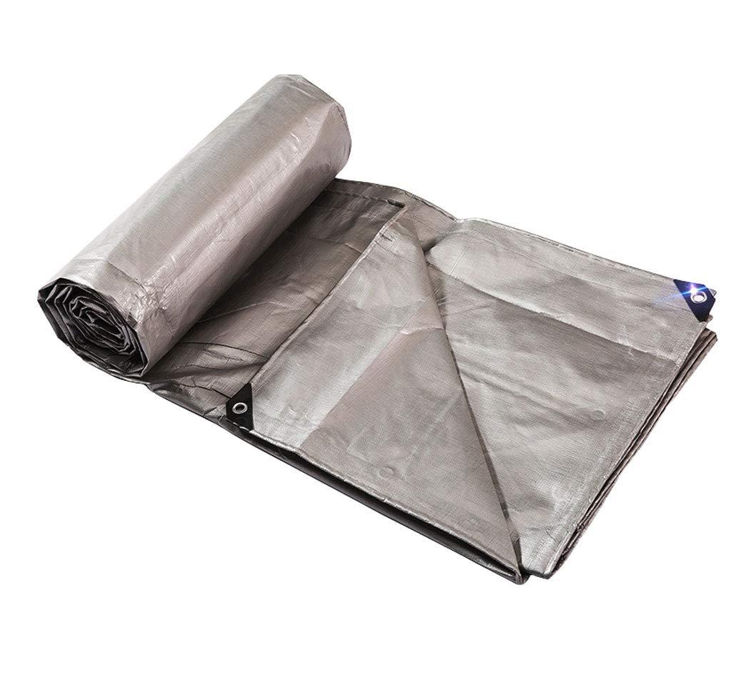 トップ アウトドアポンチョ肥厚シルバーグレープラスチック布張り布日焼け止め布カーターポリン貨物保護布、様々なサイズ (サイズ さいず : B07HT6WGQQ 12m*18m) B07HT6WGQQ 12m*18m) (サイズ 5m*6m 5m*6m, おもちゃのマツナカ:b12b98f6 --- arianechie.dominiotemporario.com
