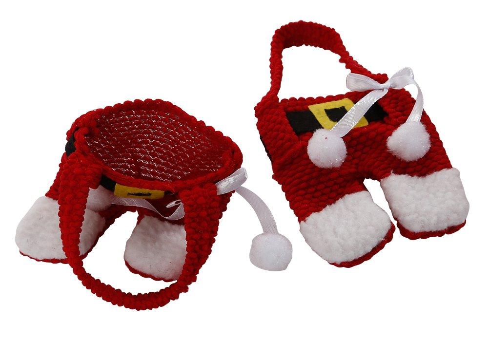 Uten Sac /à Couverts Chrismas Costume Porte-Couverts Costume de P/ère No/ël D/îner de No/ël D/écoration No/ël 6pcs