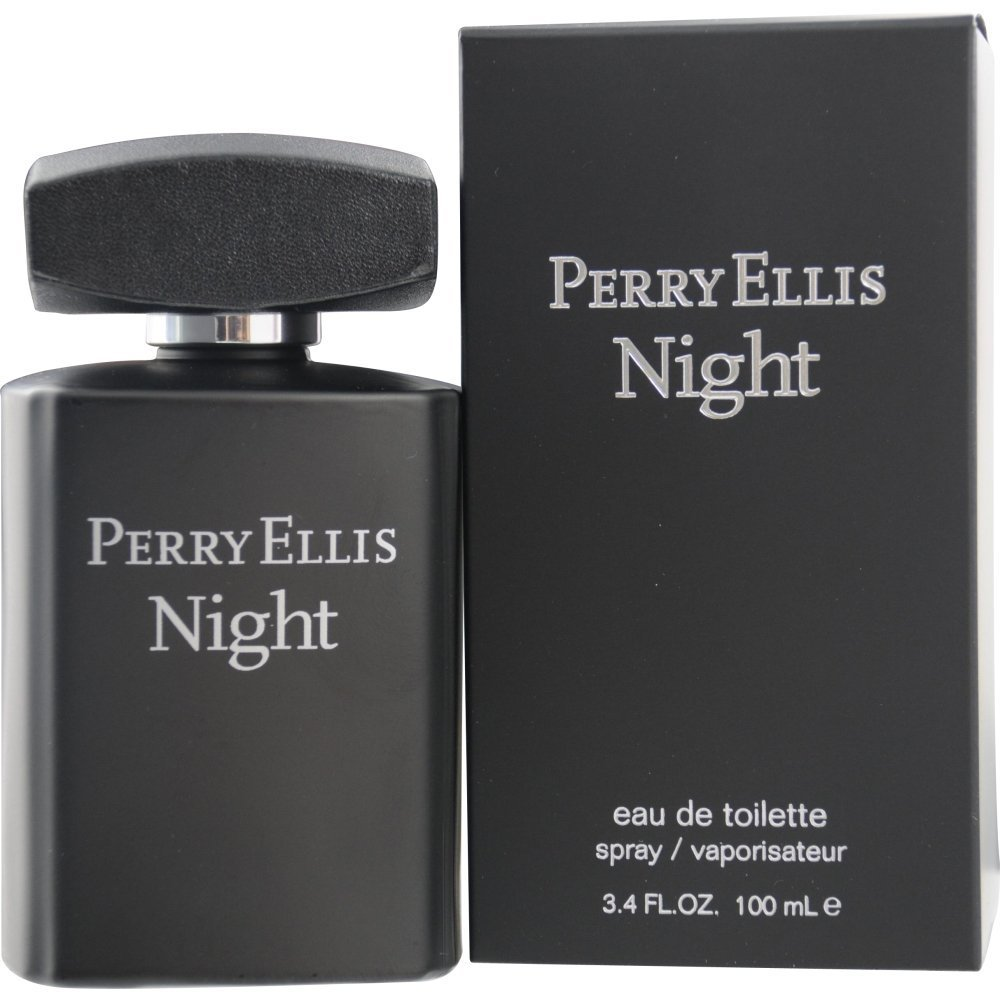 Perry Ellis Night By Perry Ellis for Men Eau-de-toillete Spray, 3.4 Ounce