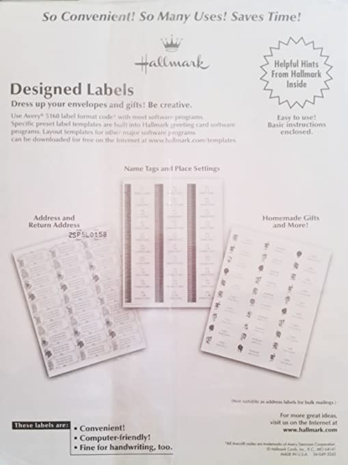 Amazon com : Designed Labels, Maxine Address Labels, Sealed With A