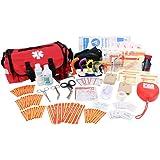 EverOne Fully Stocked Trauma Kit-Red
