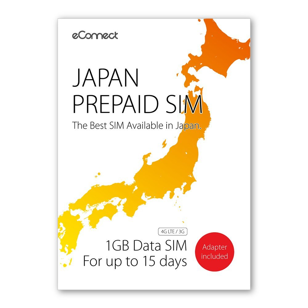 Amazon.com: Sim de prepago de Japón (1GB para de datos de ...