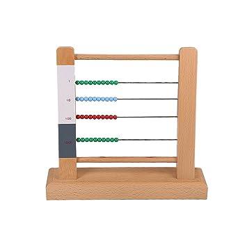 Amazoncom Montessori Mathematics Small Bead Frame Beauty
