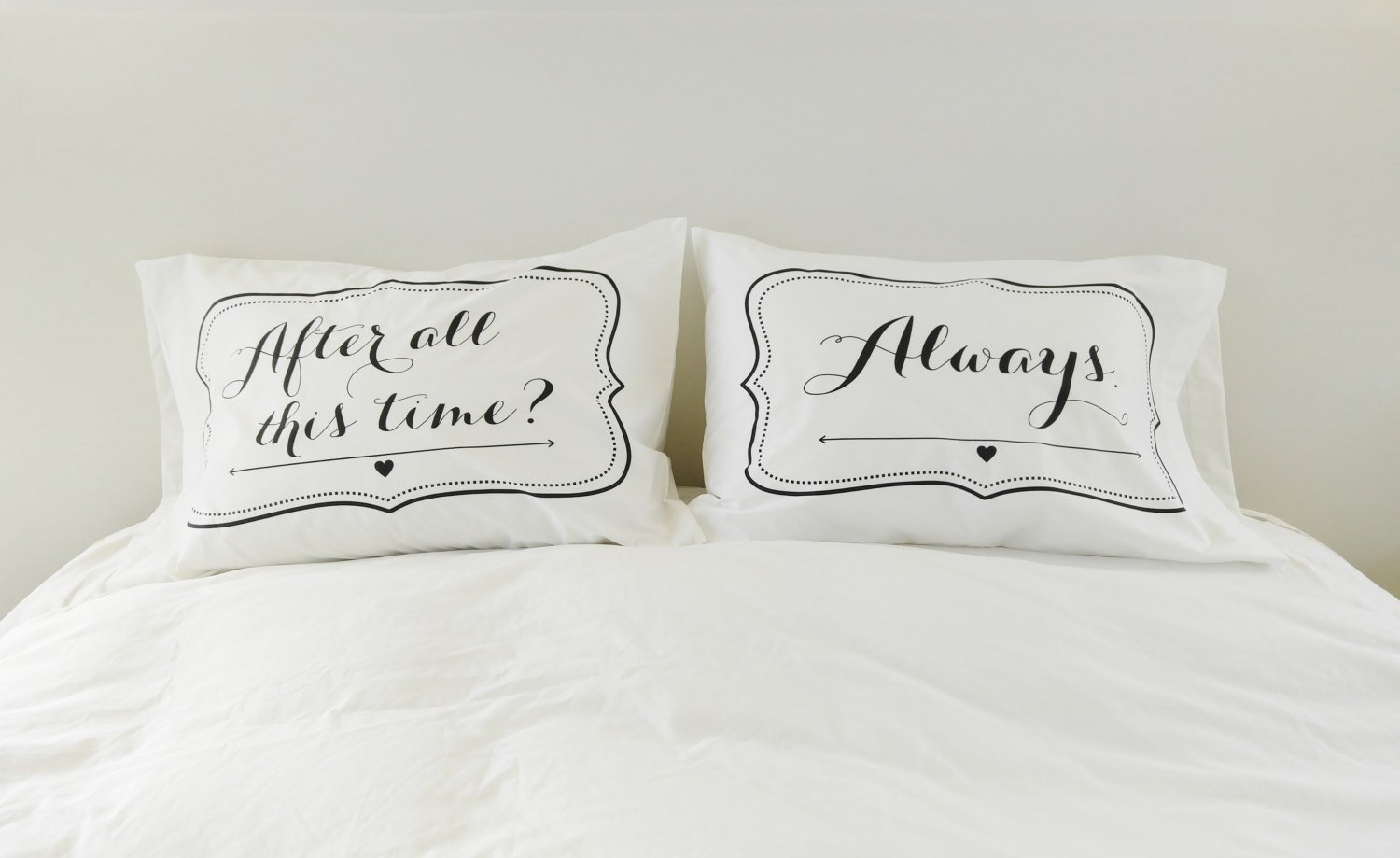 Couples Pillowcases Harry Potter After All This Time Always Pillows