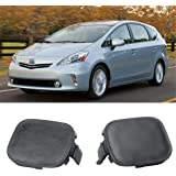 Crash Parts Plus Front Tow Hook Cover for 2016-2017 Toyota Prius