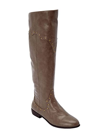 fb6220b1f26 Comfortview Women's Plus Size The Sirena Wide Calf Boot