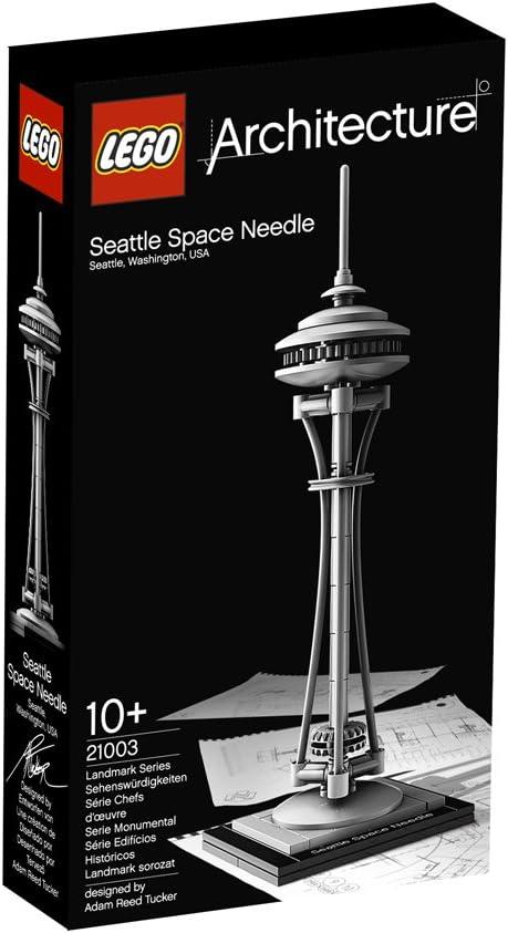 Lego Architecture - Space Needle (21003): LEGO: Amazon.es: Juguetes y juegos