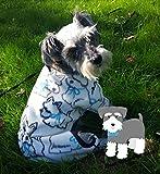 Schnauzer Print Dog Pajamas
