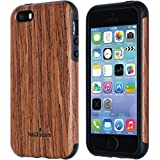 Best Wood Cases For Apple IPhones - NeWisdom iPhone SE Wood Case Suitable for iPhone Review