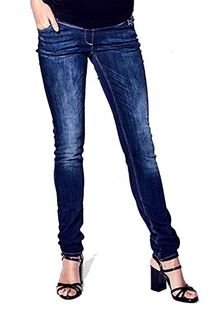 Love 2wait premamá Jeans Sophia Ligero Barco Cut ...