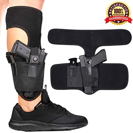 Women's Shoes Ankle Holster Gun Holster For Pistol Concealed Leg Holster With Magazine Pouch Slippers