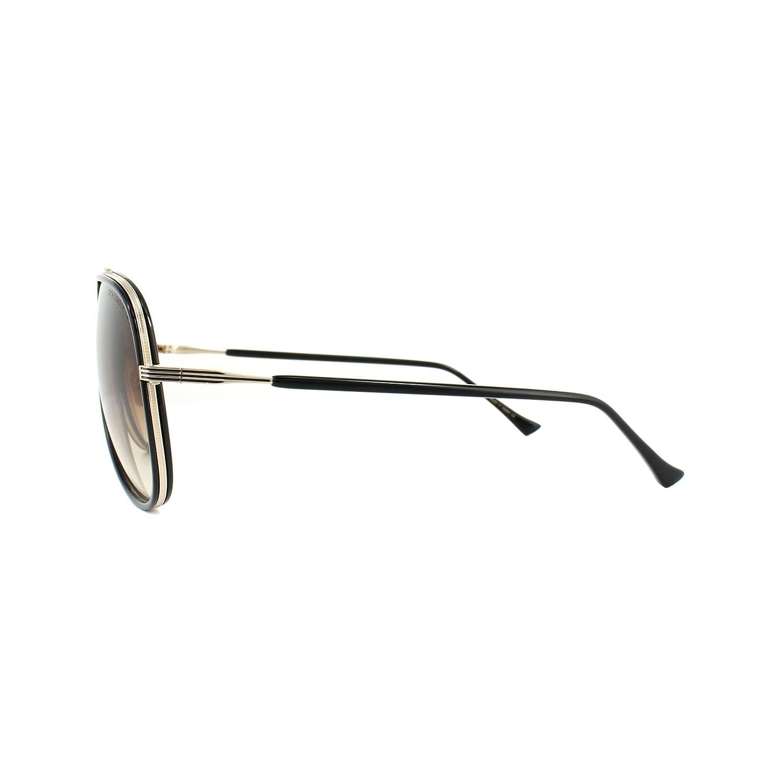 f5fb4241a37e Dita CONDOR TWO 21010 E-BLK-GLD Black-12K Gold w  Dark Brown to Clear  Sunglasses at Amazon Men s Clothing store