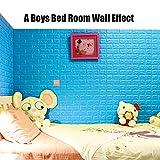 10 Pack White Brick Wallpaper Tiles, POPPAP