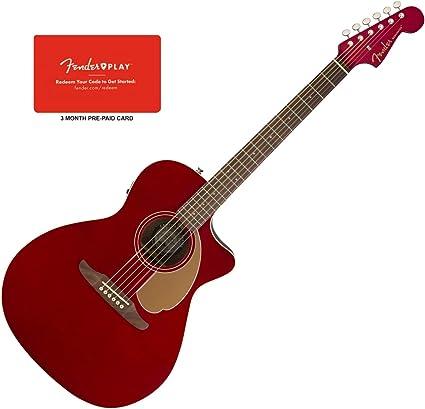 Fender 0970743009 Jugador de Newporter guitarra eléctrica acústica ...