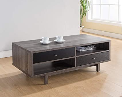 Distressed Gray Coffee Table.Amazon Com Major Q 16 H Modern Contemporary Coffee Table