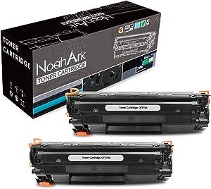 NoahArk Compatible Toner Cartridge Replacement for HP CF279A 79A Toner Cartridge Work for HP Laserjet Pro M12w M12a, MFP M26nw M26a Printer (2 Packs Black)