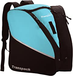 Transpack Edge Jr - Kids Ski Snowboard Boot Bag Aqua b86d8fd34a564