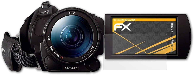Atfolix Panzerfolie Kompatibel Mit Sony Fdr Ax700 Kamera