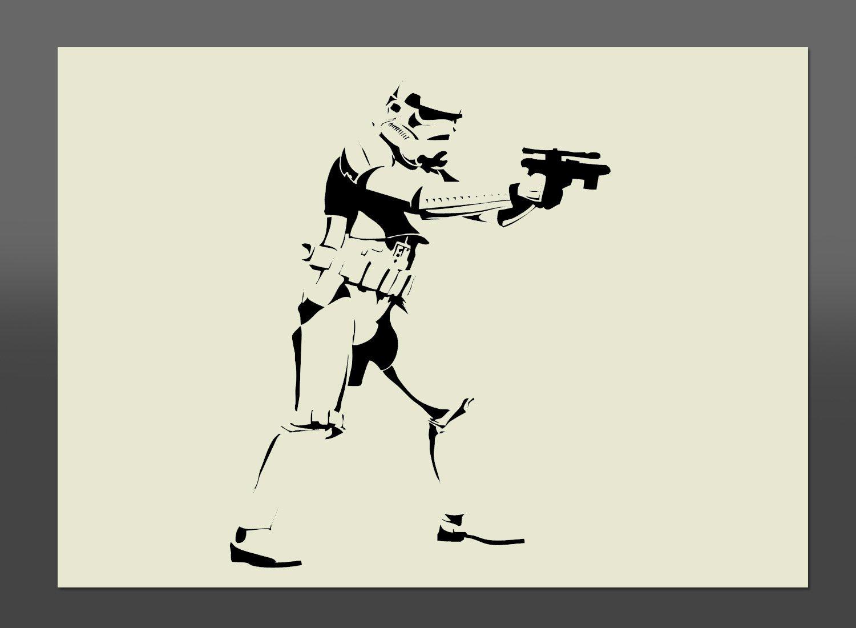 star wars stormtrooper mylar stencil a4 297x210mm wall art star wars stormtrooper mylar stencil a4 297x210mm wall art furniture stencil fabric stencil amazon co uk kitchen home