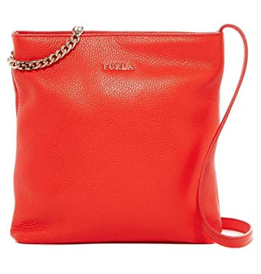 6464017f44 Image Unavailable. Image not available for. Color  Furla – Julia Chain Small  Leather ...