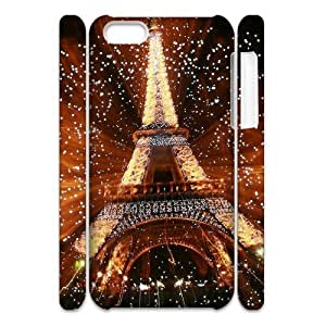SOPHIA Phone Case Of Eiffel Tower Retro Fashion Style Colorful Painted for SOPHIA 5C