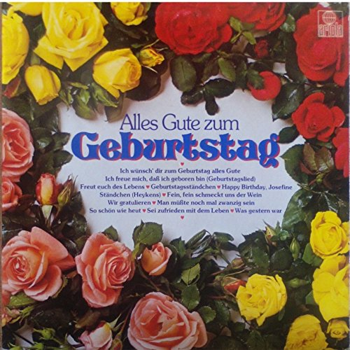 Various Alles Gute Zum Geburtstag Lp Amazon Co Uk Music