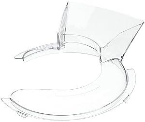 W10616906 Pouring Shield for KitchenAid KSM90 & K45 Stand Mixer by PartsBroz - Replaces WPW10616906, AP6023411, 9709923, 3177975, 3177976, 3177977, 4162314, 4162315, 4163467, 4163468, 4169995