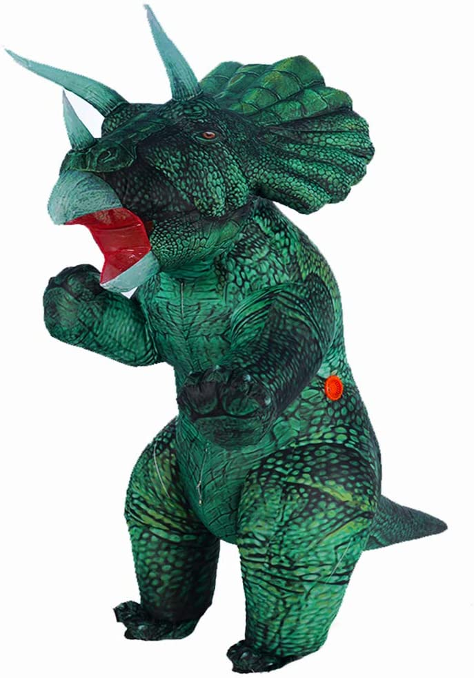 Dinosaur Costume for Adults Inflatable Triceratops