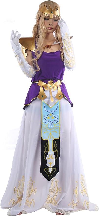 Nexthops The Legend of Zelda Cosplay Falda Disfraz para Mujeres ...