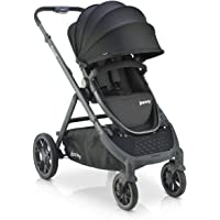 Joovy Qool Stroller, Customizable Stroller, Single, Double, Triple, Black Melange