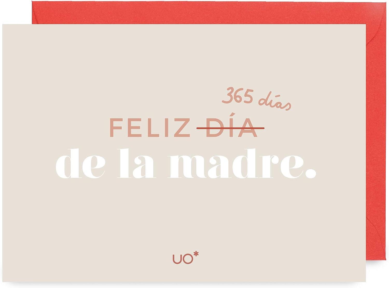 One Size Tama/ño del fabricante:Talla /única Beige 001 para Mujer UO Postal Feliz d/ía de la Madre Guantes,